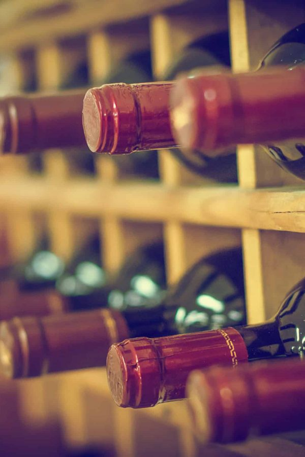 Collection of red wines