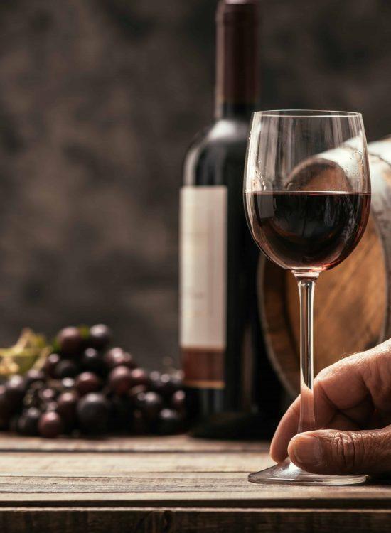 Vegan and preservative free wines