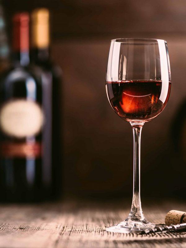 Red Glass Wine